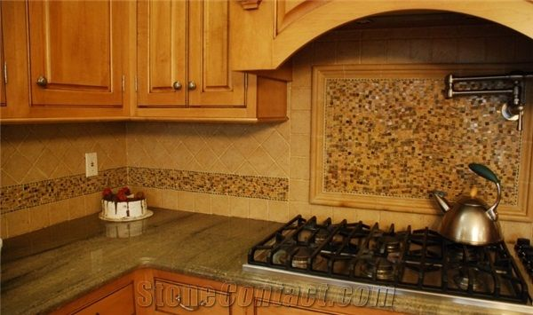 Mixed tile design | Flecks of design | Pinterest | Mosaic backsplash ...
