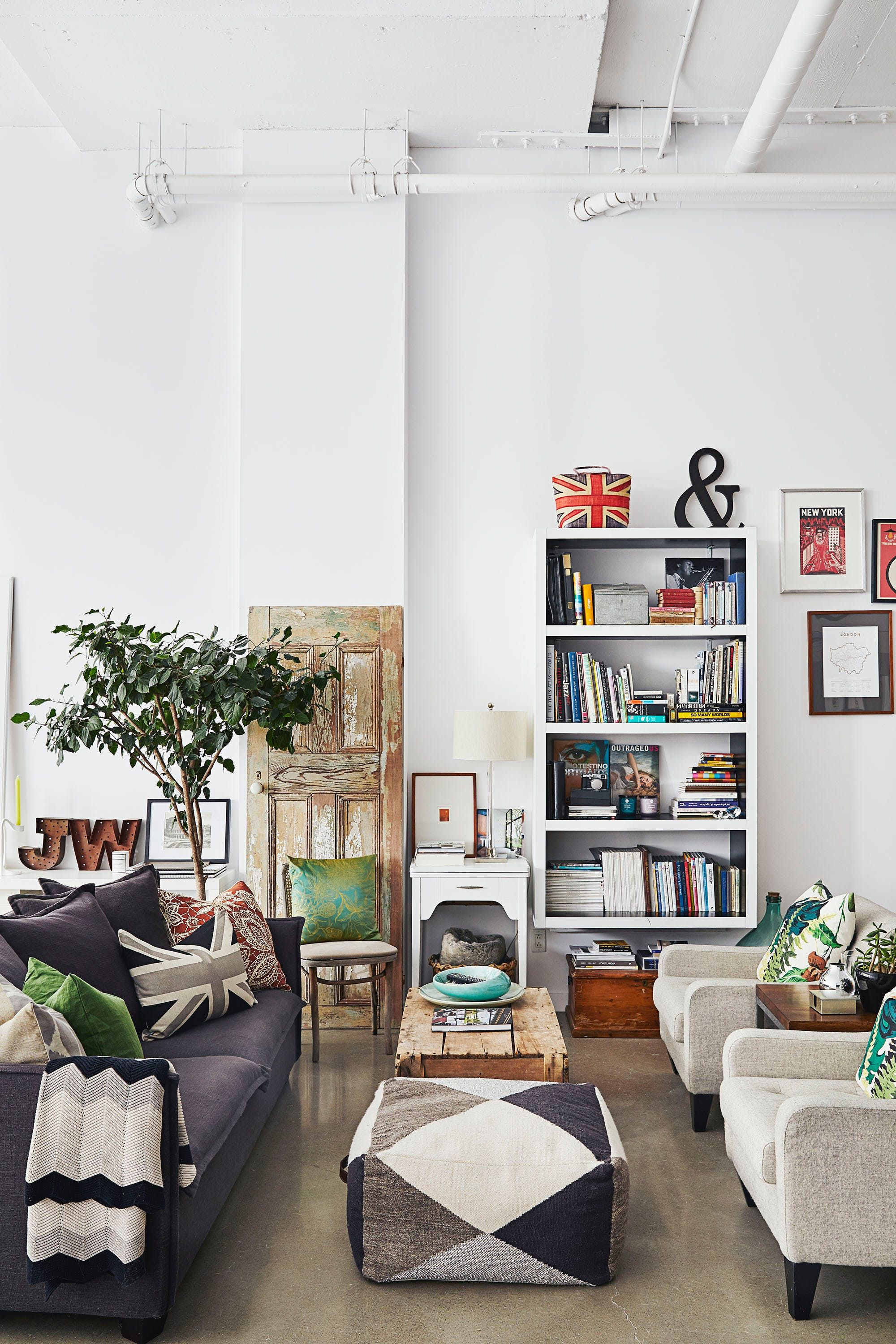 A Converted Commercial Loading Dock Turned Modern Home Living
