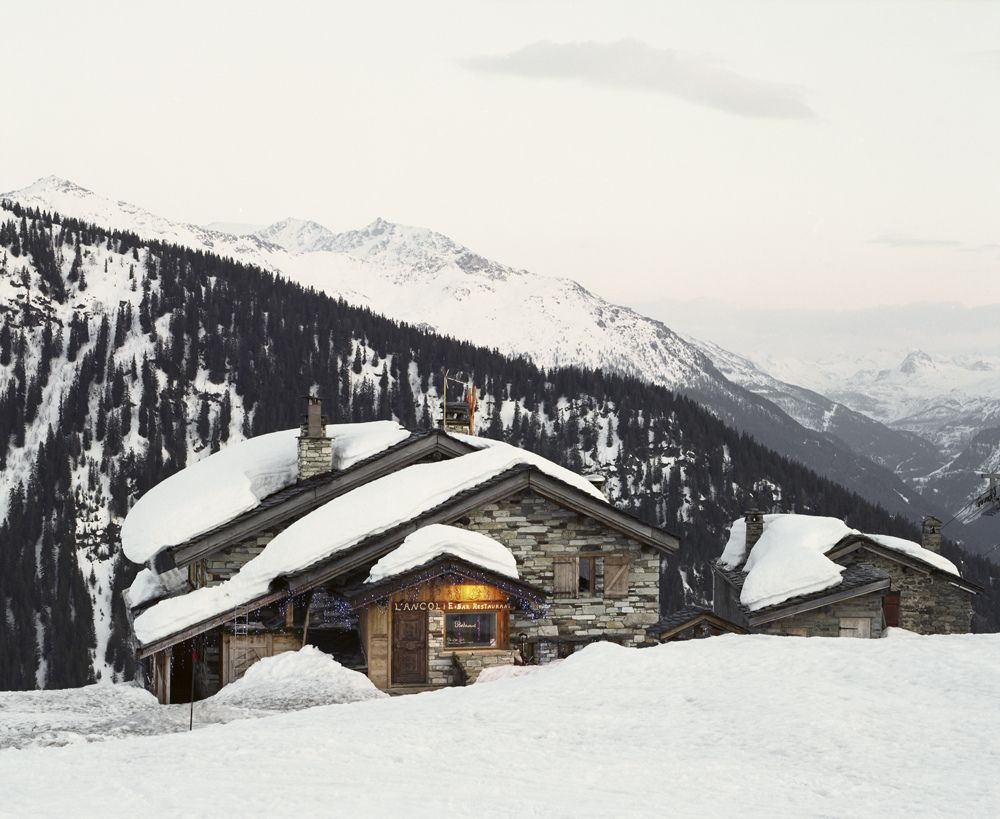 #cabin #snow #cottage