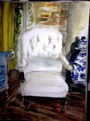 The White Chair     Miranda Markham