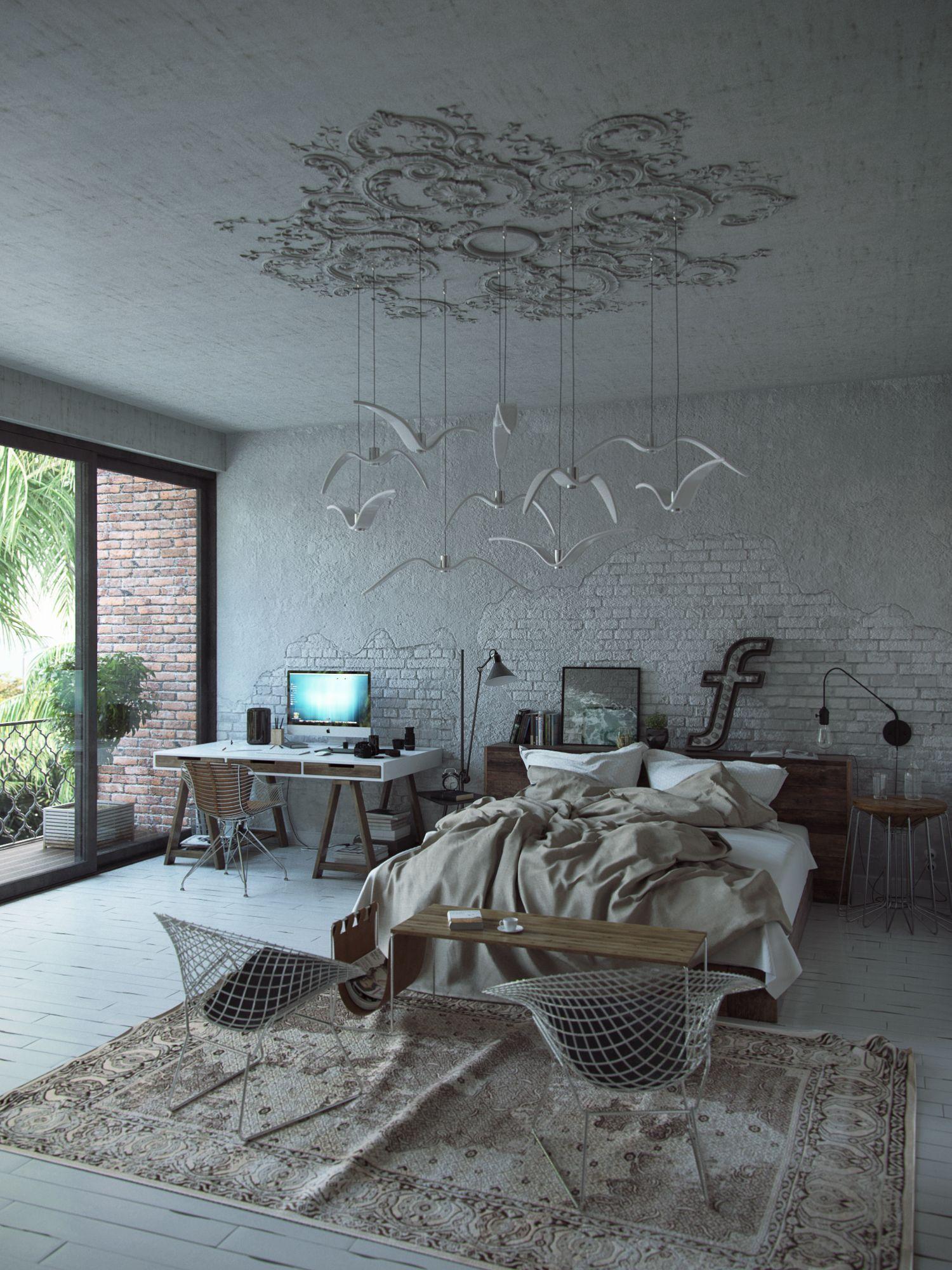 Andrey Vladimirov On Behance Bedroom Officebedroom Ideasterrapublic