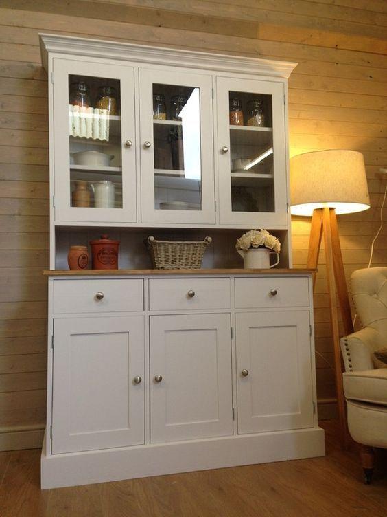 White Kitchen Dresser image result for white painted pine kitchen | white kitchens