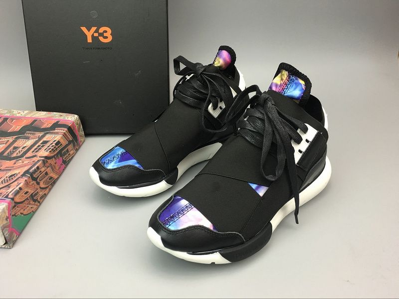5358535e806e Unisex Fashion Sneakers 2018 Adidas Y3 Y-3 Qasa High Multicolor Yohji  Yamamoto