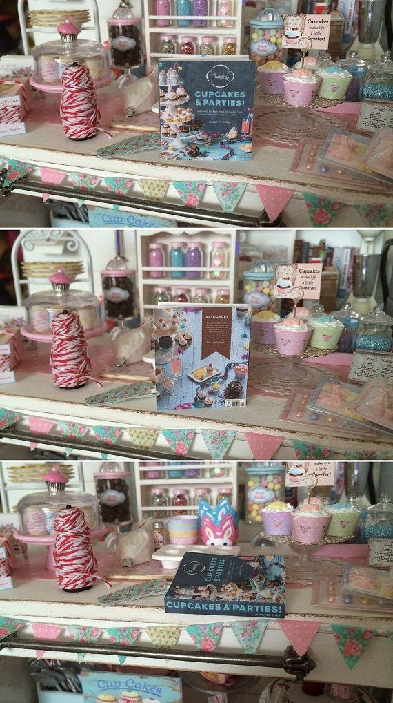 PLAYSCALE BAKING COOKBOOKS - 1:6 Scale - Blythe, Momoko, Pullip, Barbie, Fashion Royalty