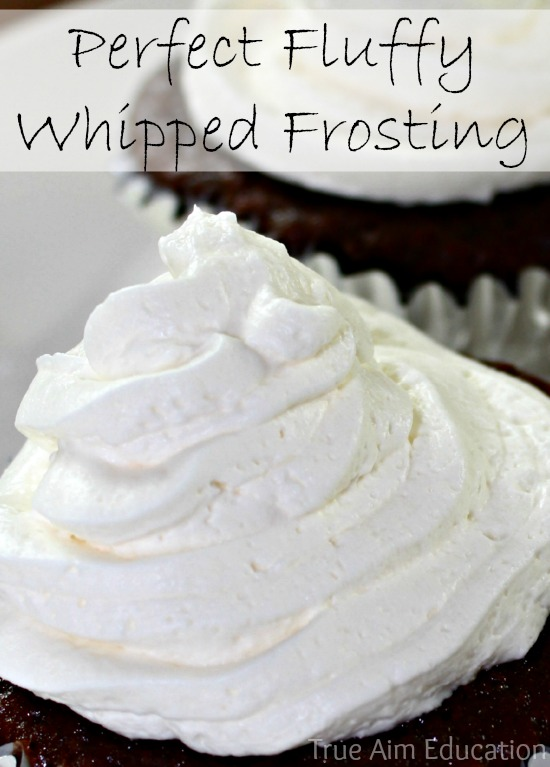 The Perfect Whipped Cream Frosting | True Aim