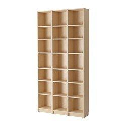 Width: 120 cm, Depth: 28 cm, Height: 237 cm BILLY Bookcases