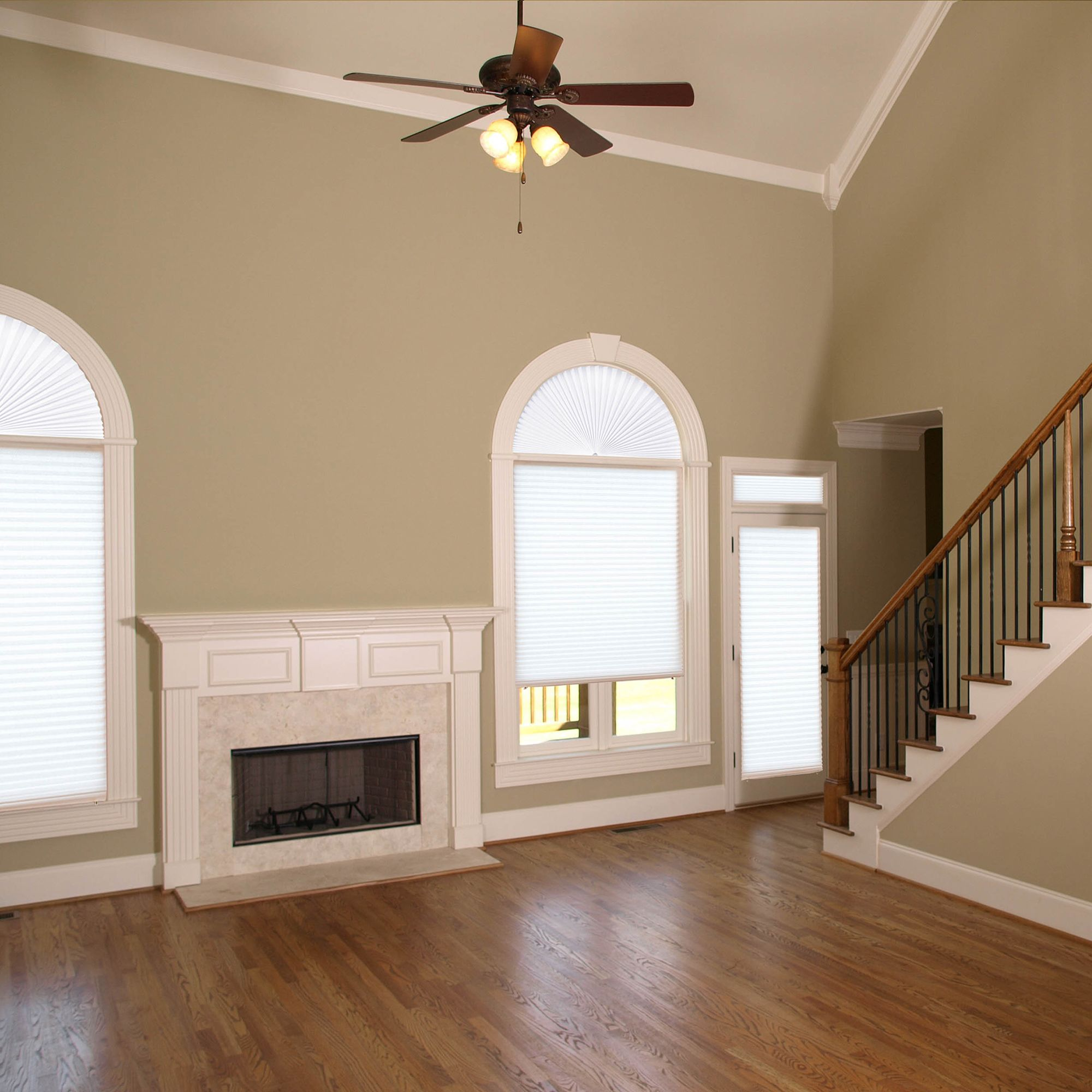 arch window shade wide original arch window shades by redi shade in light filtering white