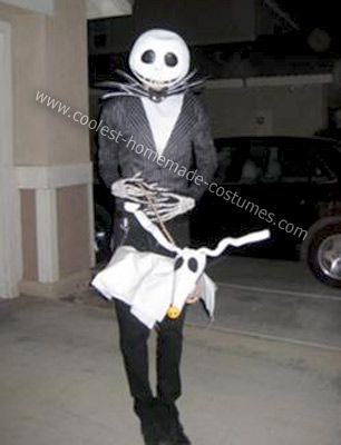 Handmade Jack Skellington Costume