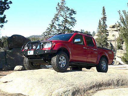 2005 2014 Frontier Front Bumper Truck Pinterest