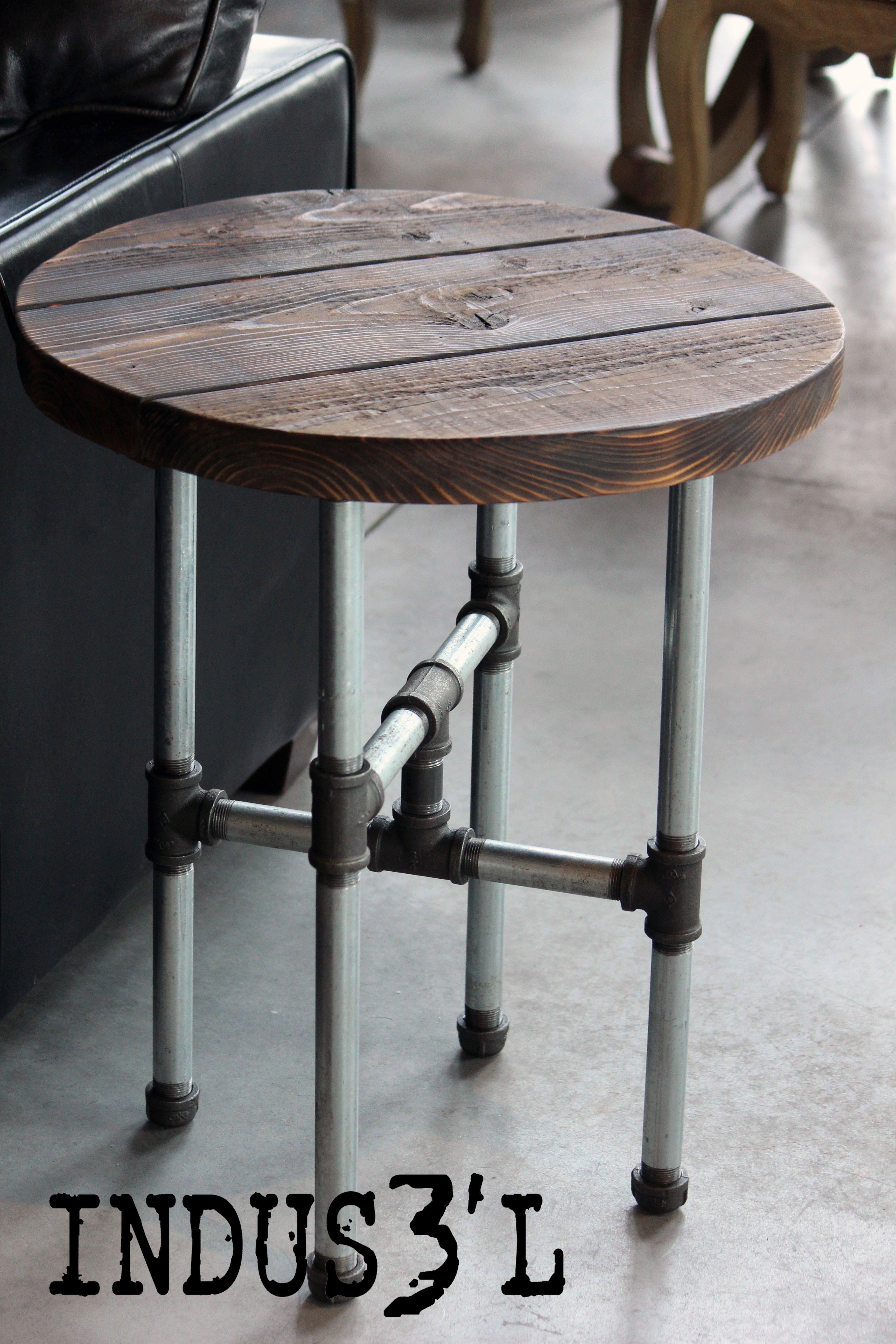 Table d appoint sur mesure Création La Shop de Design s