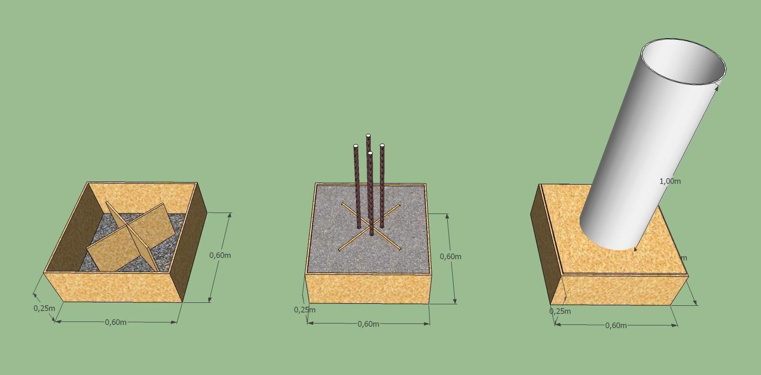 Plots Betons Pour Dalle Bois 17 Messages Plot Beton Terrasse Dalle Bois Plot Terrasse Bois