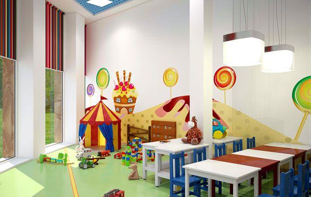 افضل تجهيز فصول رياض الاطفال فى مصر Fun Slide Decor Joy