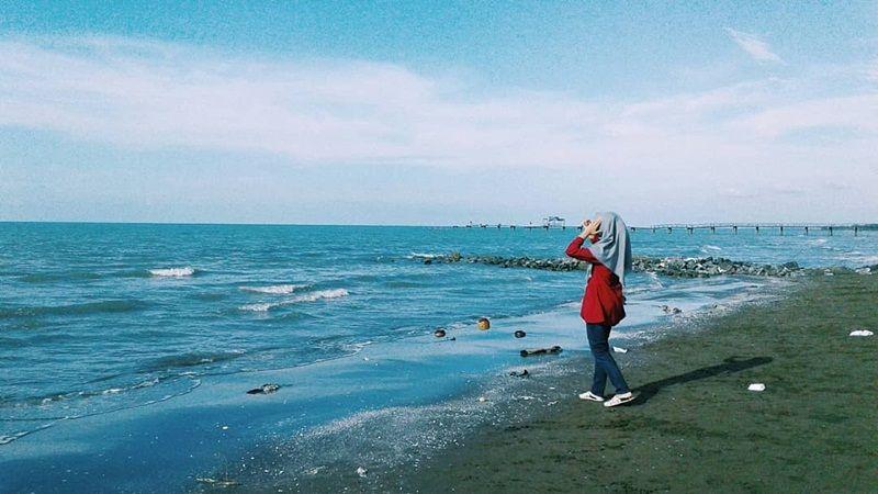 Destinasi Wisata Pantai Widuri Pemalang Yang Instagramable