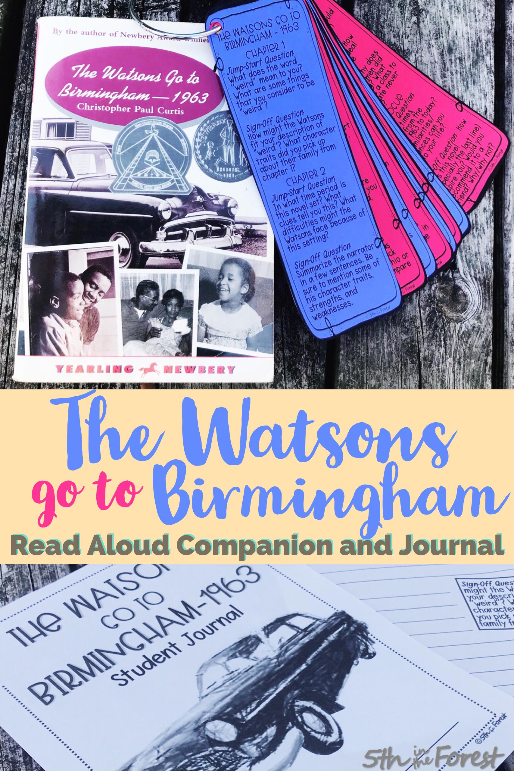 The Watsons Go To Birmingham Read Aloud Companion