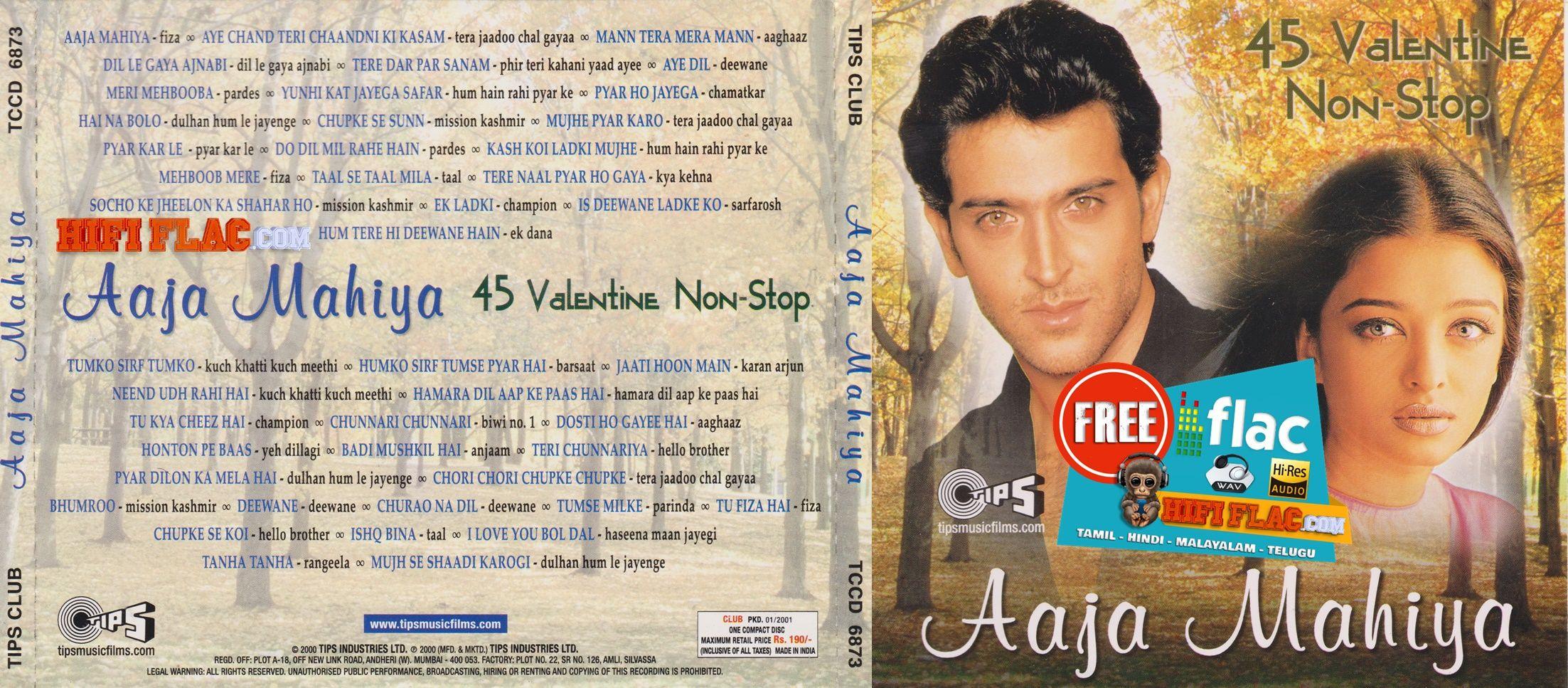 Aaja Mahiya 45 Non Stop Valentines Hits 2000 Hindi Acdrip Flac