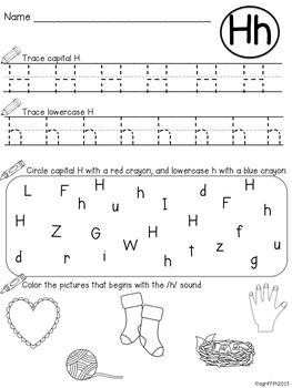 alphabet practice letter recognition initial sounds kindergarten. Black Bedroom Furniture Sets. Home Design Ideas