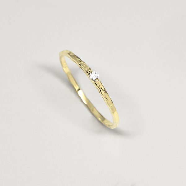 Photo of fejn jewelry Ring 'Sparkle Hammered'