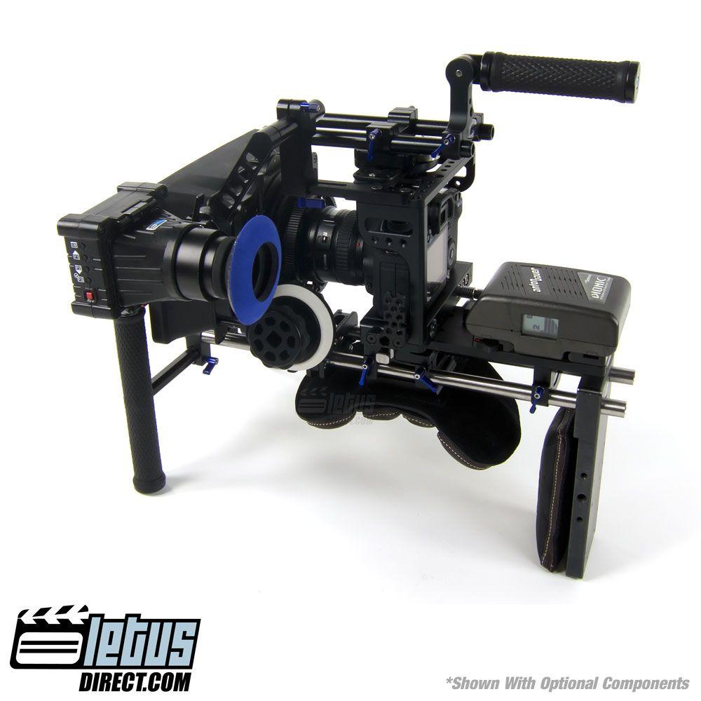 Diy Dslr Camera Rig: Letus Shoulder Rig. Designed To Feel More Like A Film