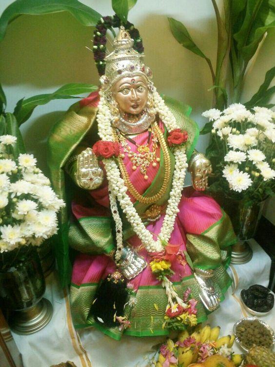 Pin By Vishnu Vishal On Varalakshmi Puja Decoration With