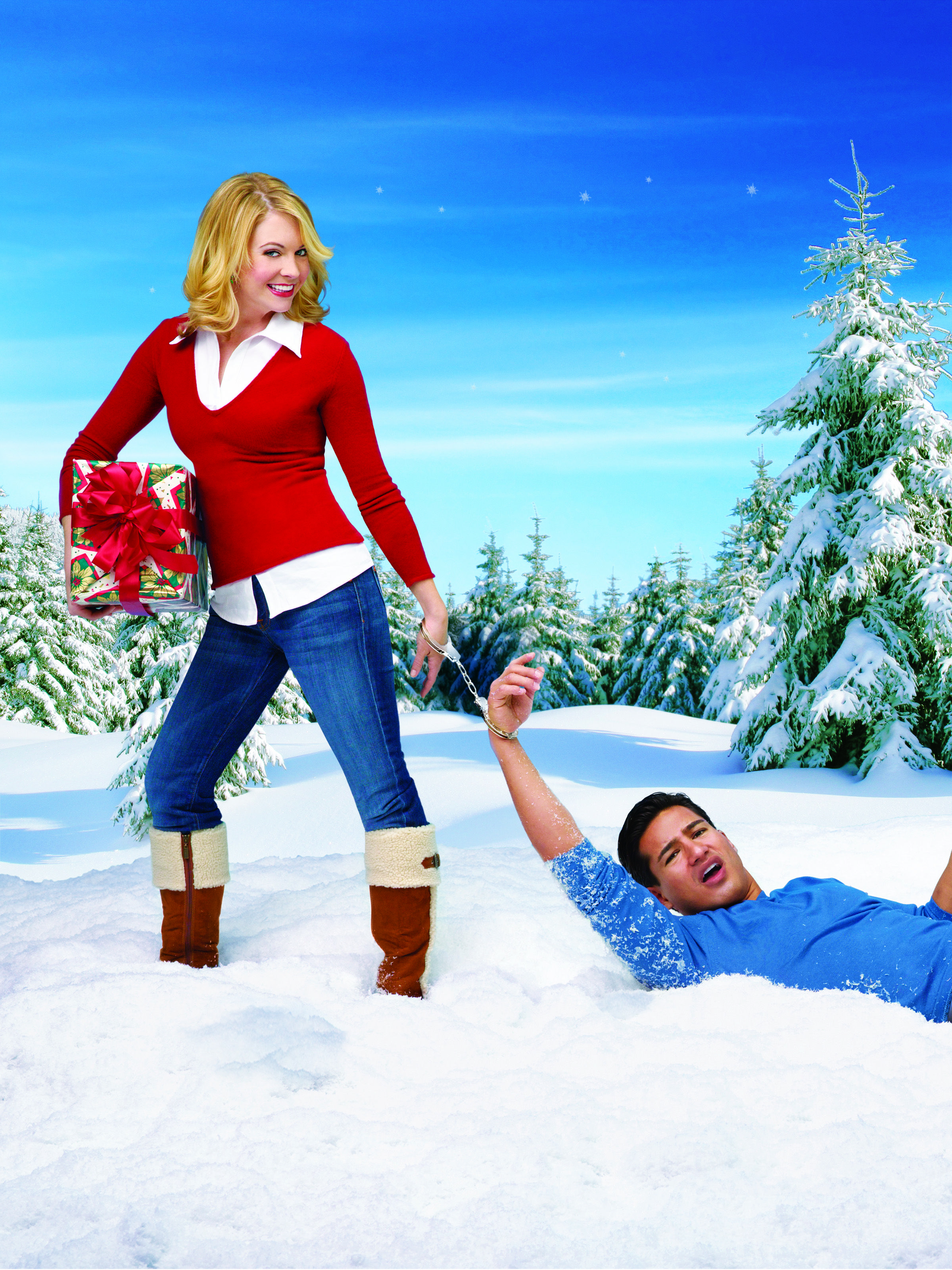 Don't miss Melissa Joan Hart & Mario Lopez in Holiday in