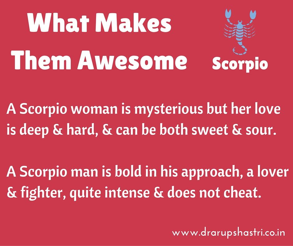 Things to know about scorpio women