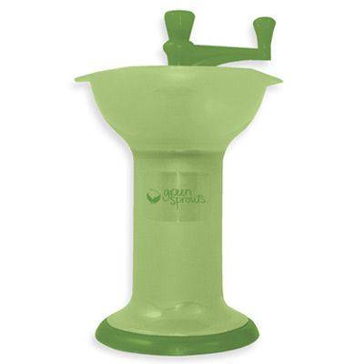 green sprouts baby food mill by green sprouts at babyearth com 12 95