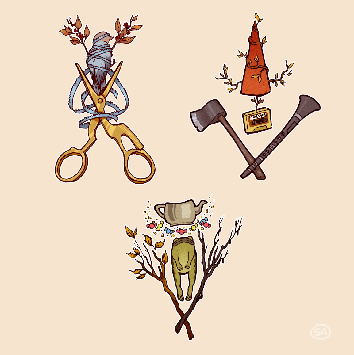 Emblems of the Forest
