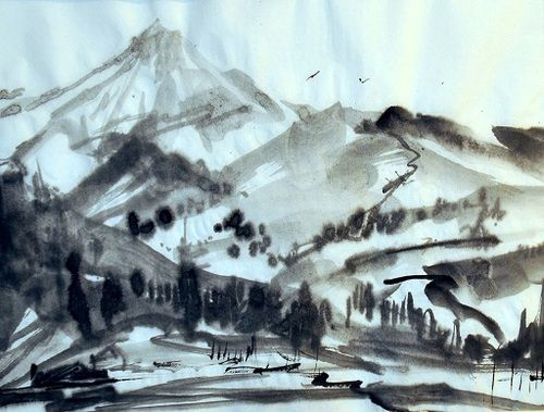 Sumi E Art Just For Beginners W Joe Mackechnie Sign Up Today
