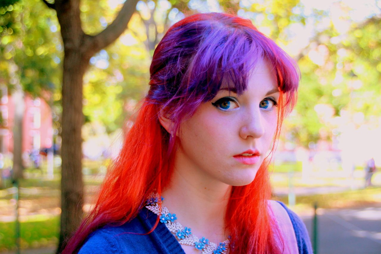 Tagged On Tumblr With Manic Panic You Could Recreate Ultra Violet In The Bangs