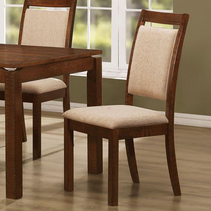 Beautiful Neutral Dining Room Chairs Fabric Home Design Ideas Kursi Makan Kursi