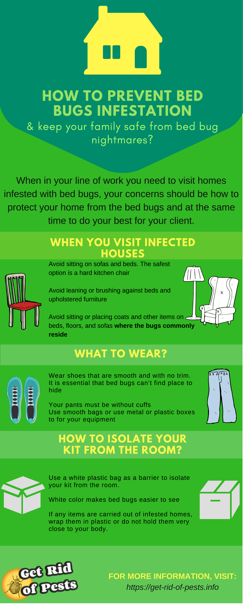 How do you get bed bugs from work? How to avoid bed bugs