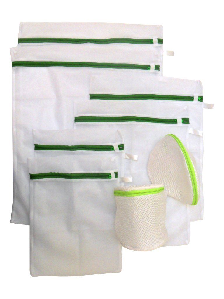Amazon Com 8 Piece Loopsliving Fine Mesh Laundry Bag Wash Set