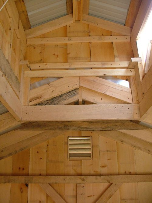 I love this interior shot of this 12x Sugaring Shacks working cupola with vents. http://jamaicacottageshop.com/shop/sugar-shacks-12x/ http://jamaicacottageshop.com/wp-content/uploads/pdfs/pdf12x16sugarshack.pdf