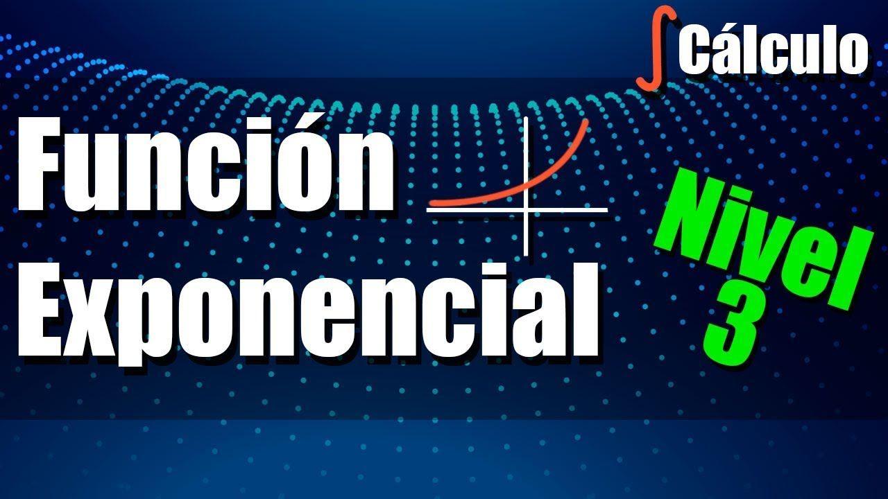 Función Exponencial - Ejercicios Nivel 3 - Aplicaciones   función ...