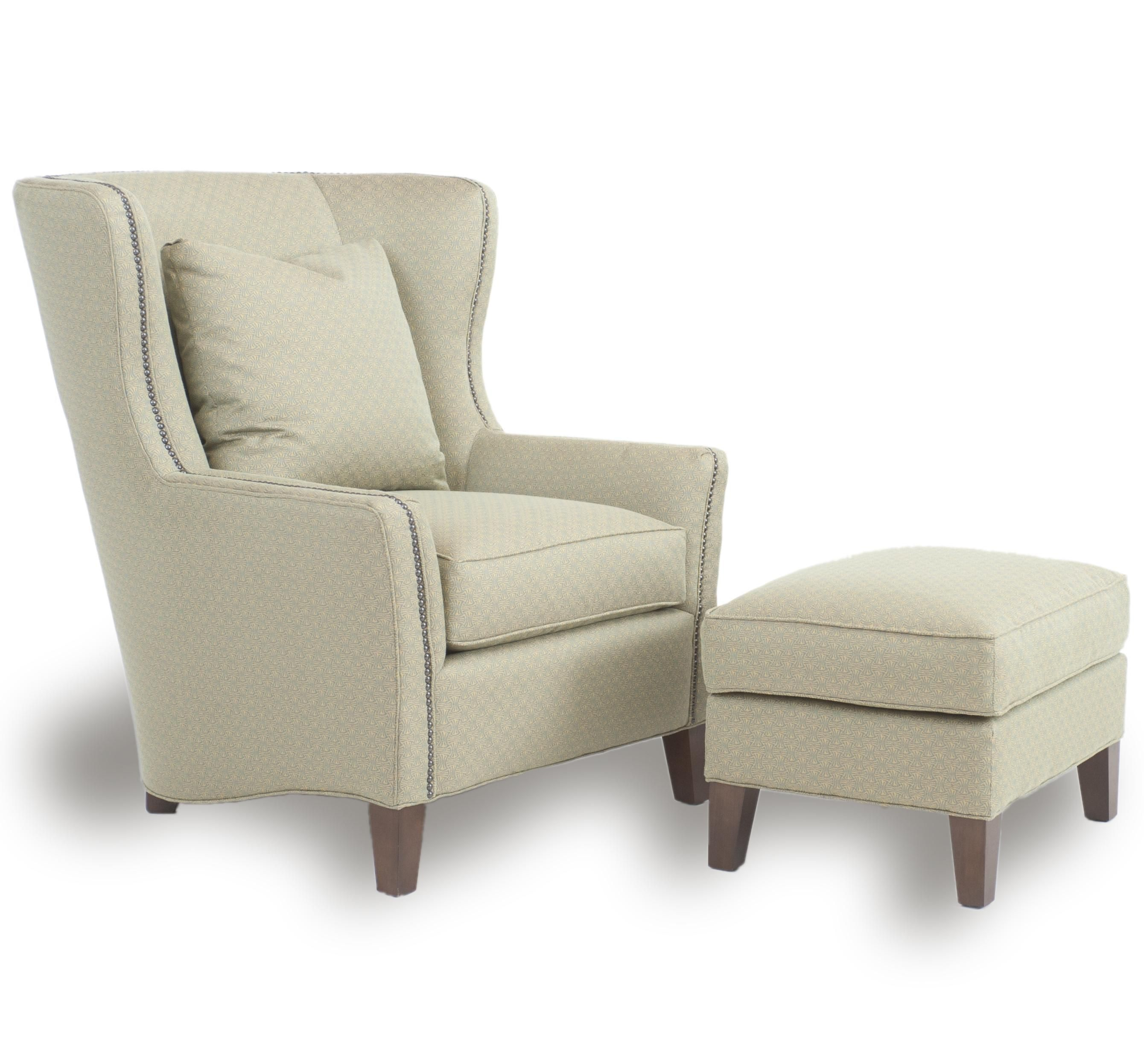 Upholstered Wingback Chair Furniture Pinterest