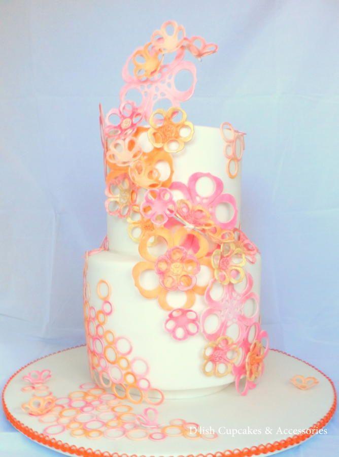'Bloom' Spring wedding cake