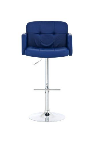 clp bar stool los angeles faux leather design swivel chair chrome