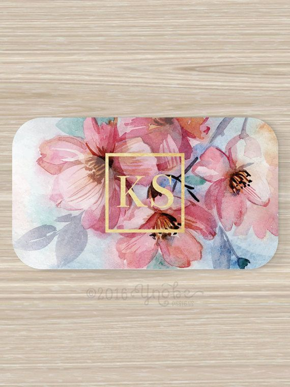 Floral Business Card Faux Gold Foil Florist Flowers Pink Etsy In 2021 Floral Business Cards Florist Business Card Flower Business