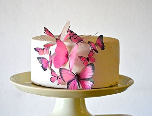 Edible Butterfly Cake Decorations Butterfly Wedding Cake Edible Butterfly Cupcake Cakes