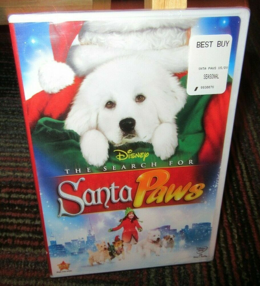 DISNEY THE SEARCH FOR SANTA PAWS DVD MOVIE KAITLYN MAHER MADISON