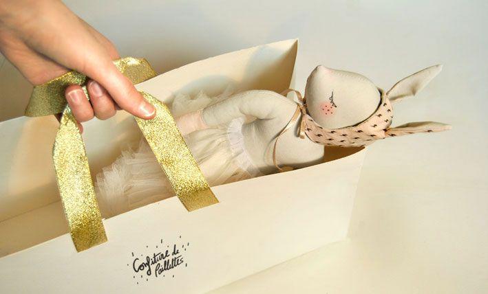 """""""Confiture de Paillettes""""/ Handmade doll / handmade project@MaiwennPhilouze"""