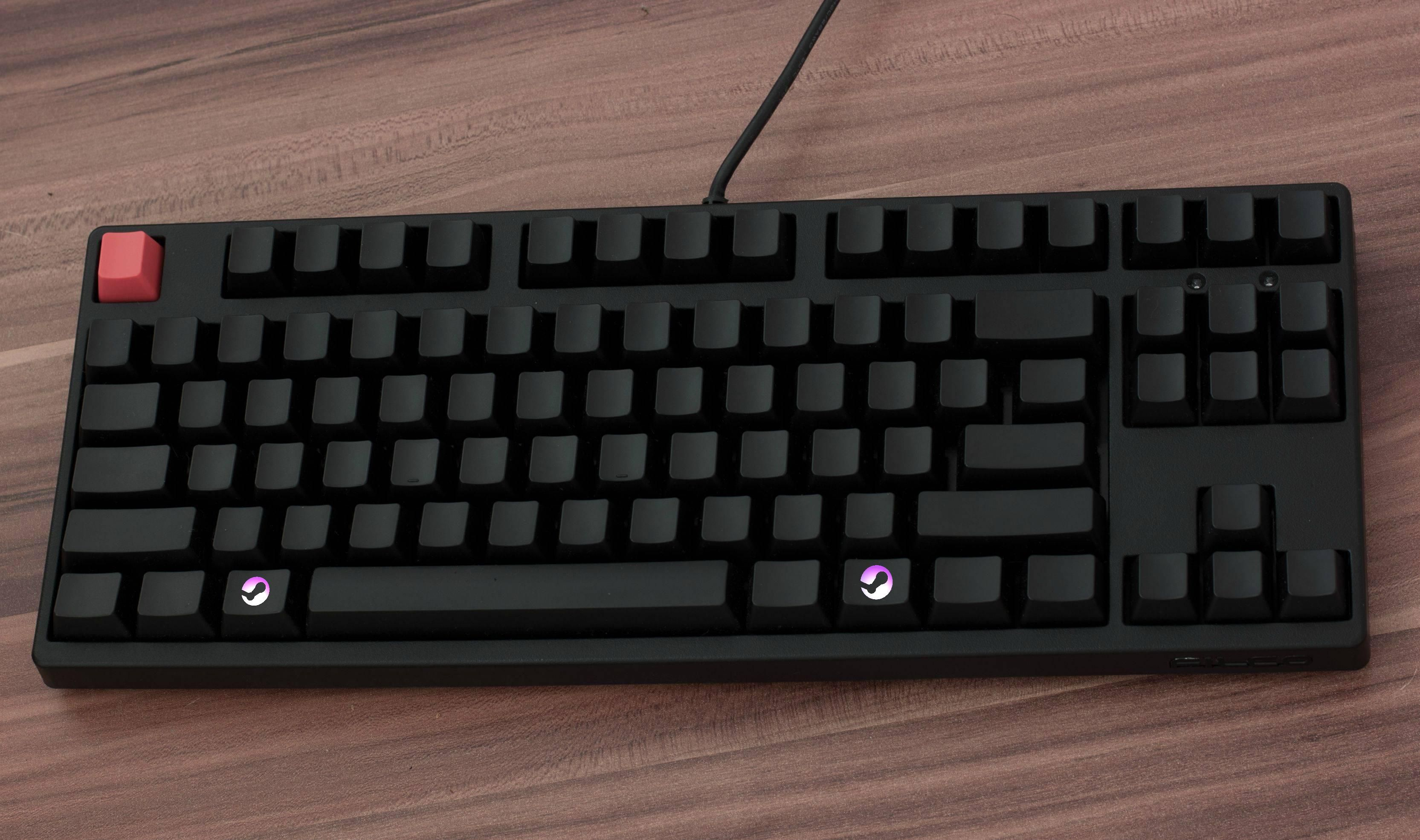Steam Keycaps In