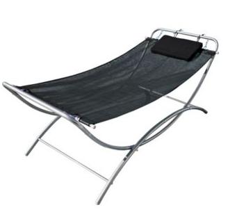 Malibu Black Single Garden Hammock From Argos Swing Seat