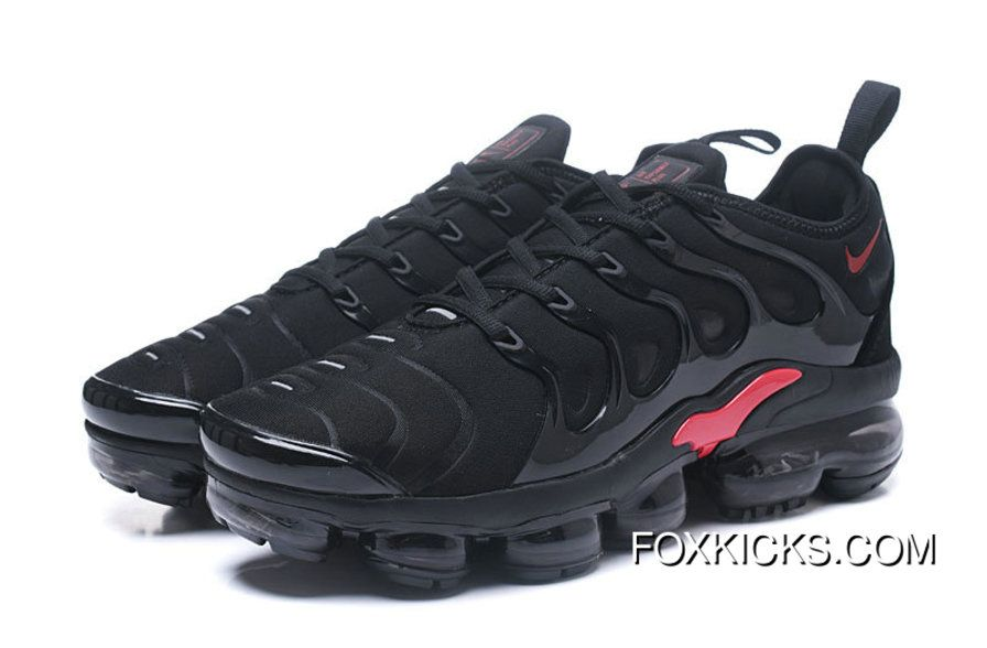 sports shoes d297e 7c21e 2018 Nike Lab Air Vapor Max X Nike Air Vapormax Plus Fire Red Black Online