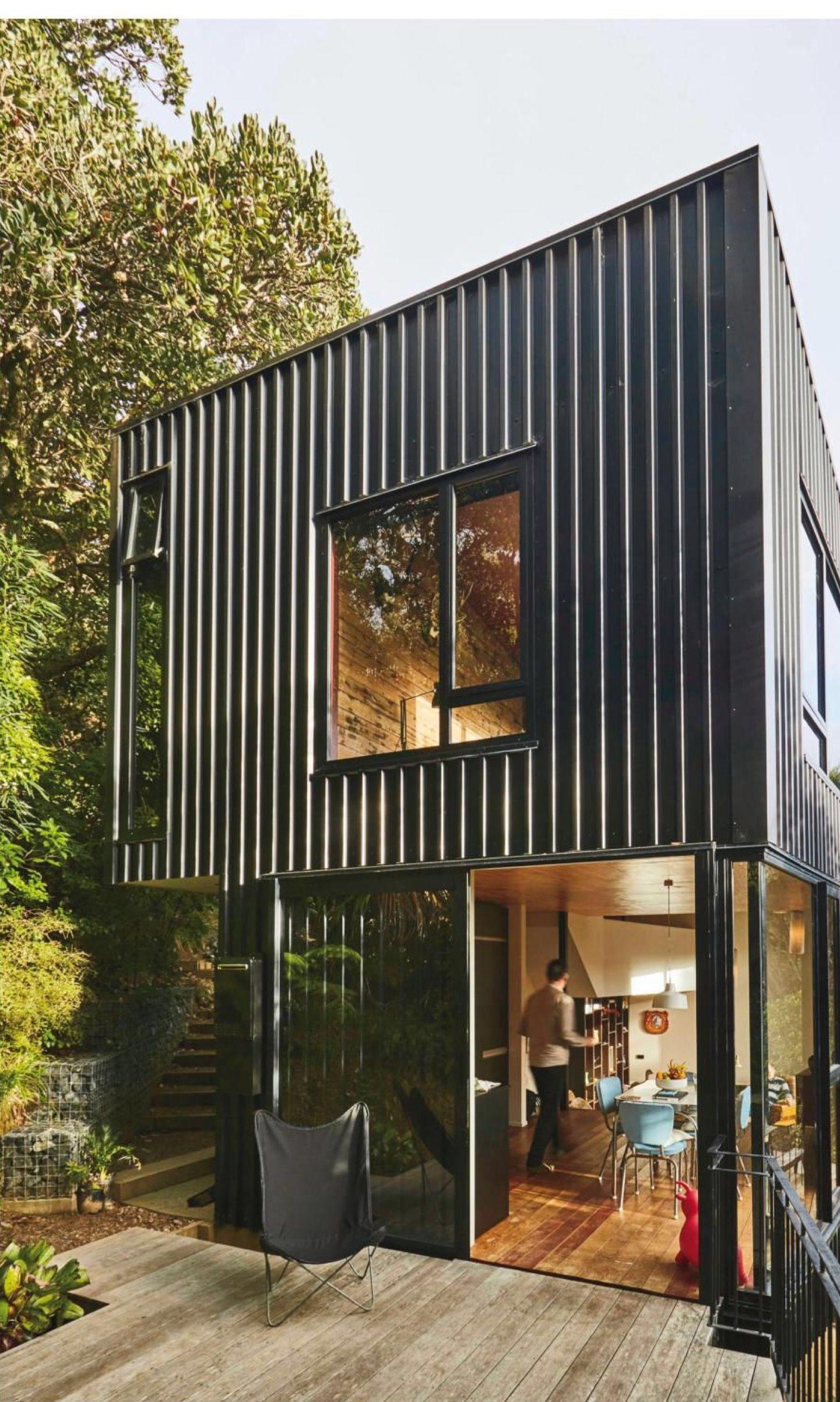 Fassade Haus Kleine Häuser Haus Design Betonplatte Schatzinsel Gartenideen Containerhäuser Töchter