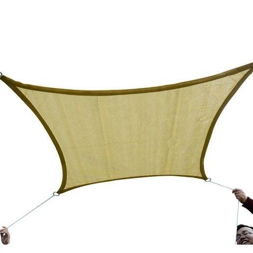 outsunny 20 x 13 outdoor patio recgle sun shade canopy 100110
