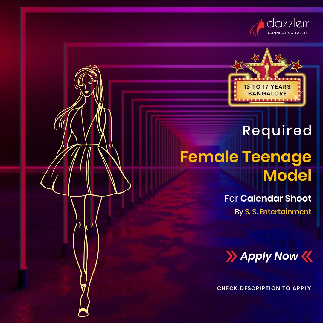 Female Model Required For Calendar Shoot . . . We are Looking for good looking female models for ca