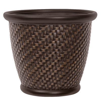 f30dfed54547a3bfd4f05cc41f994b52 - Better Homes And Gardens 18 Weathered Lattice Planter Chocolate