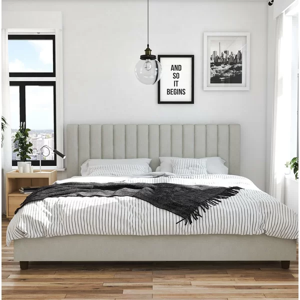 Brittany Upholstered Platform Bed Upholstered Beds Platform Bed