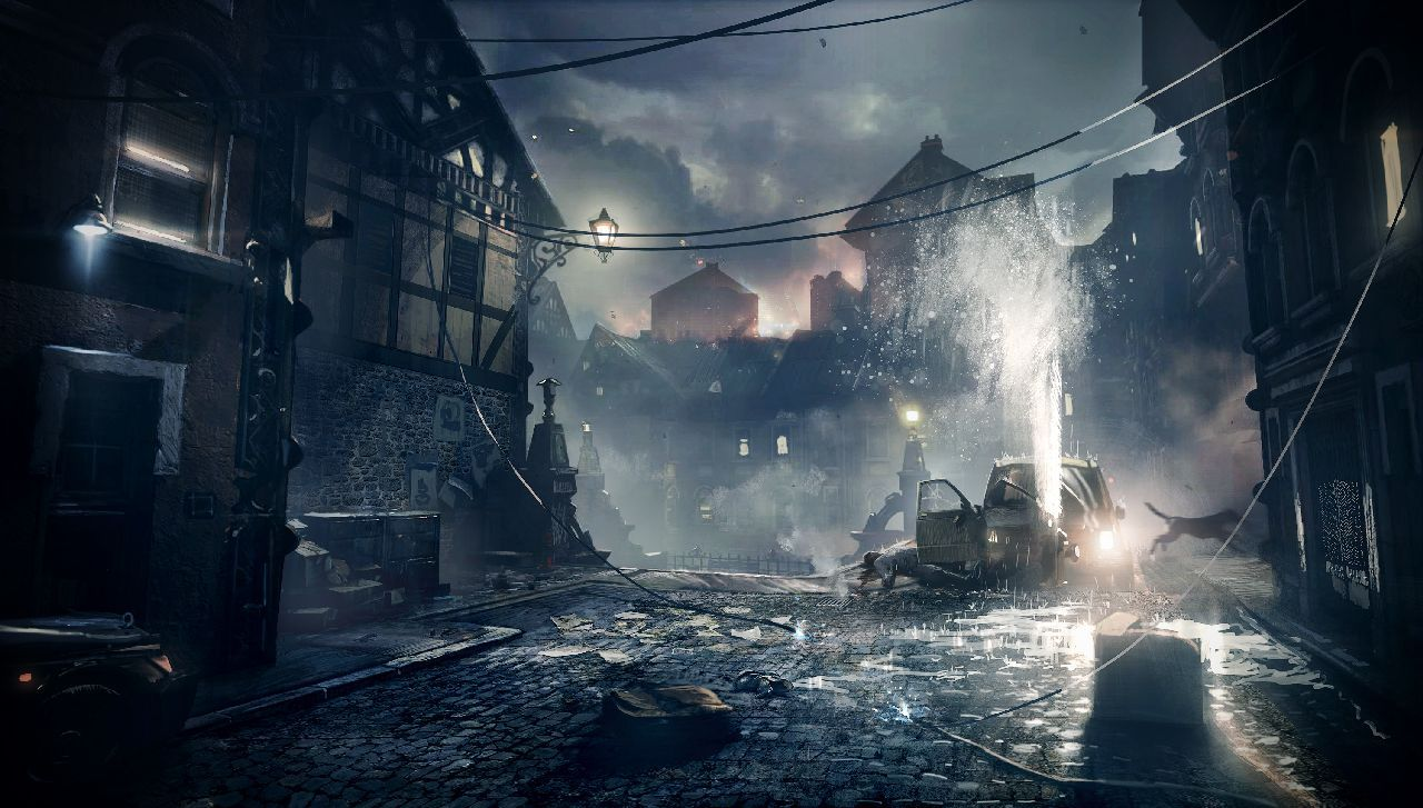Gears of War Judgment stage concept